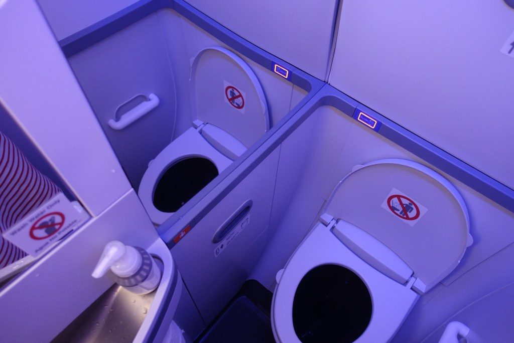 Southwest Airlines Boeing 737 Max 8 Aircraft Details Lavatory Bathroom Toilet Photos