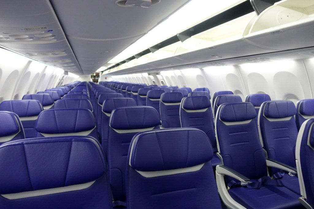 Southwest Airlines Boeing 737 Max 8 Cabin Interior 3 3 Seats Layout Configuration