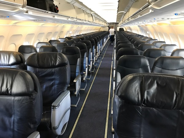 Spirit Airlines Airbus A319 100 Onboard Cabin Interior Configuration and Seats Layout