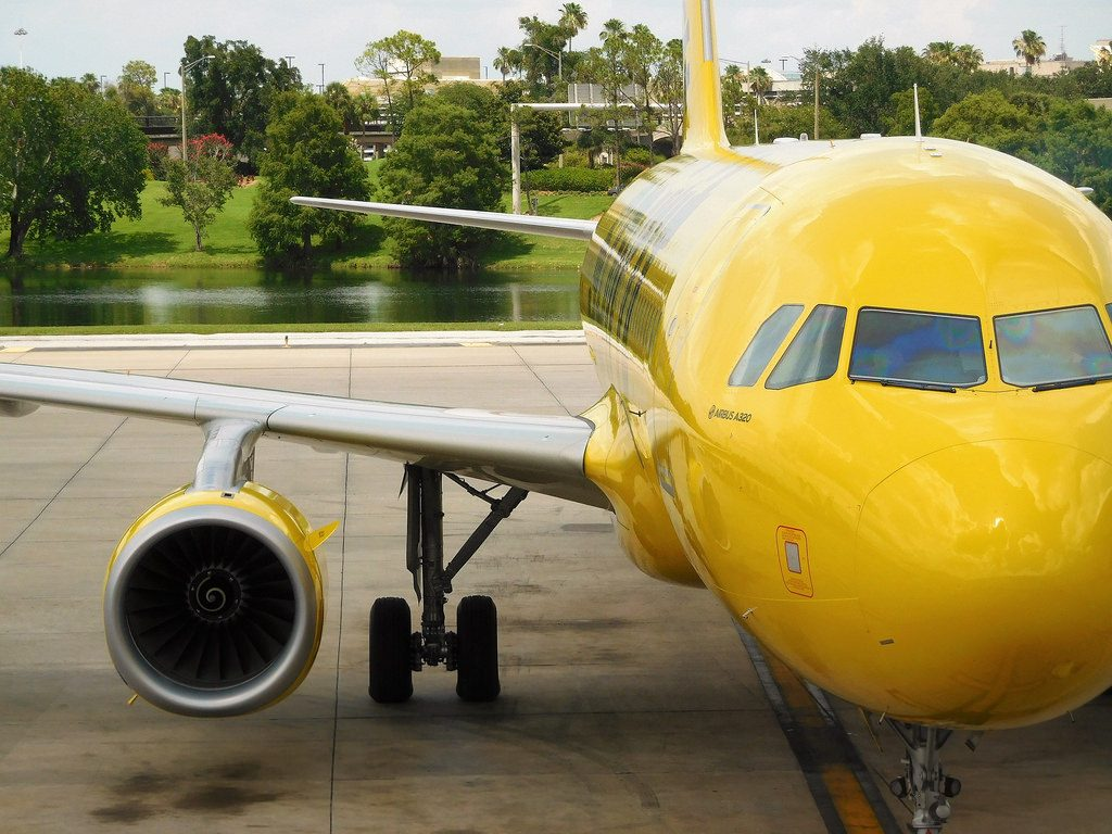 Spirit Airlines Airbus A320 232 N655NK Aircraft Egines Photos