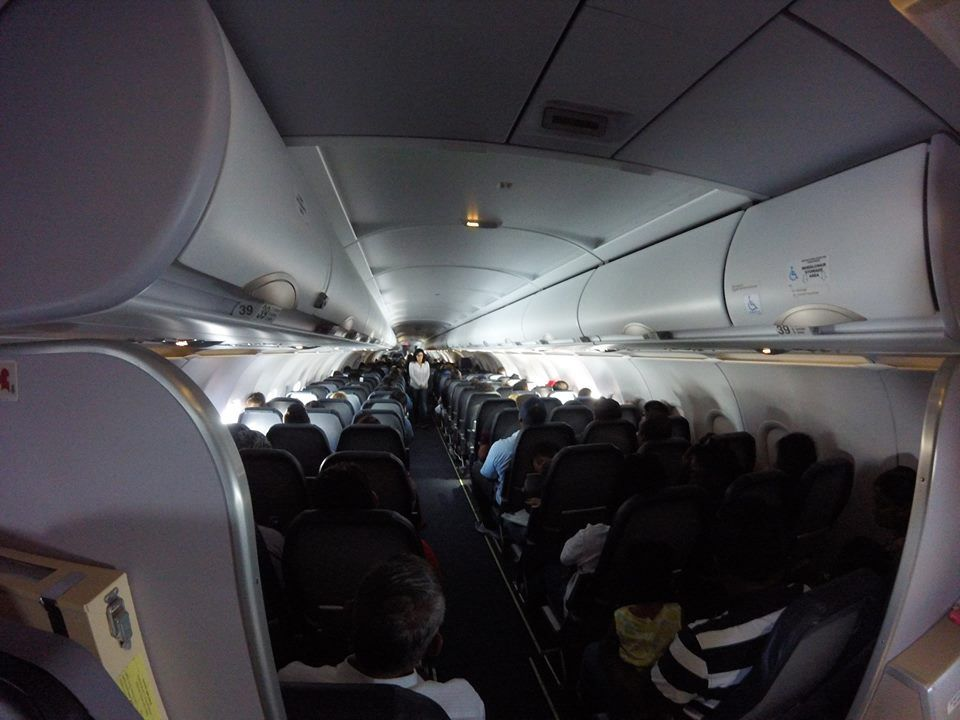 Spirit Airlines Airbus A321 200 Economy Cabin Inflight Photos