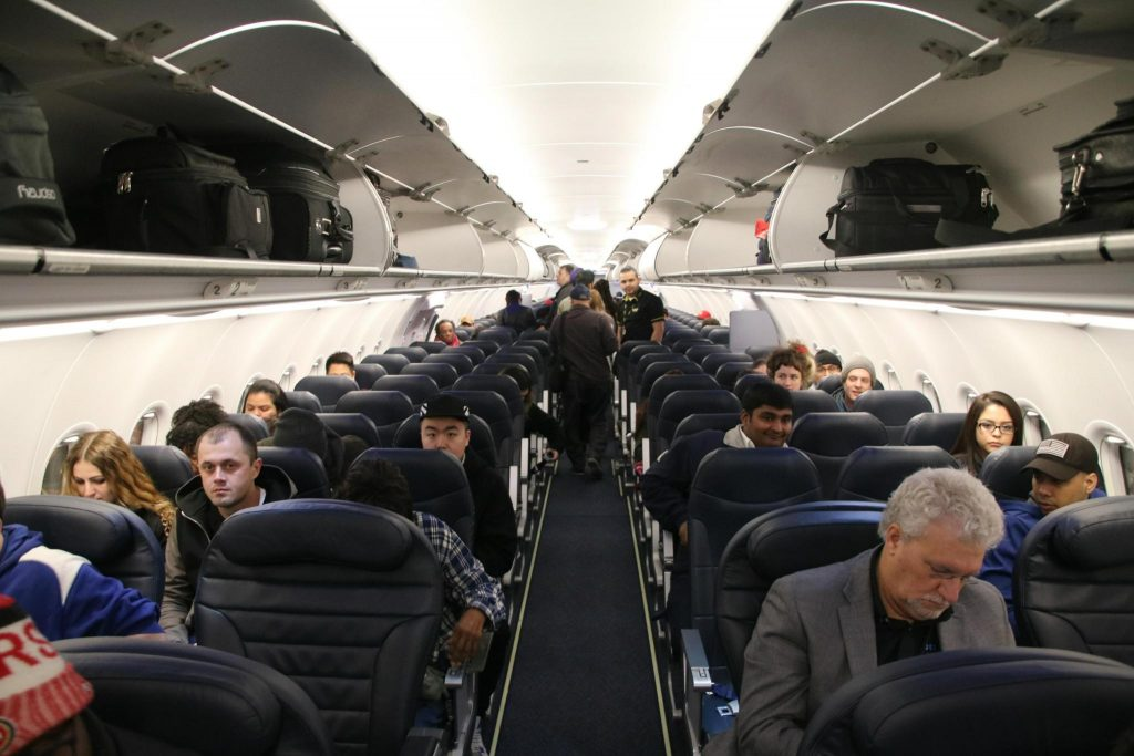 Spirit Airlines Airbus A321 200 Economy Cabin Interior and Seats Layout Configuration