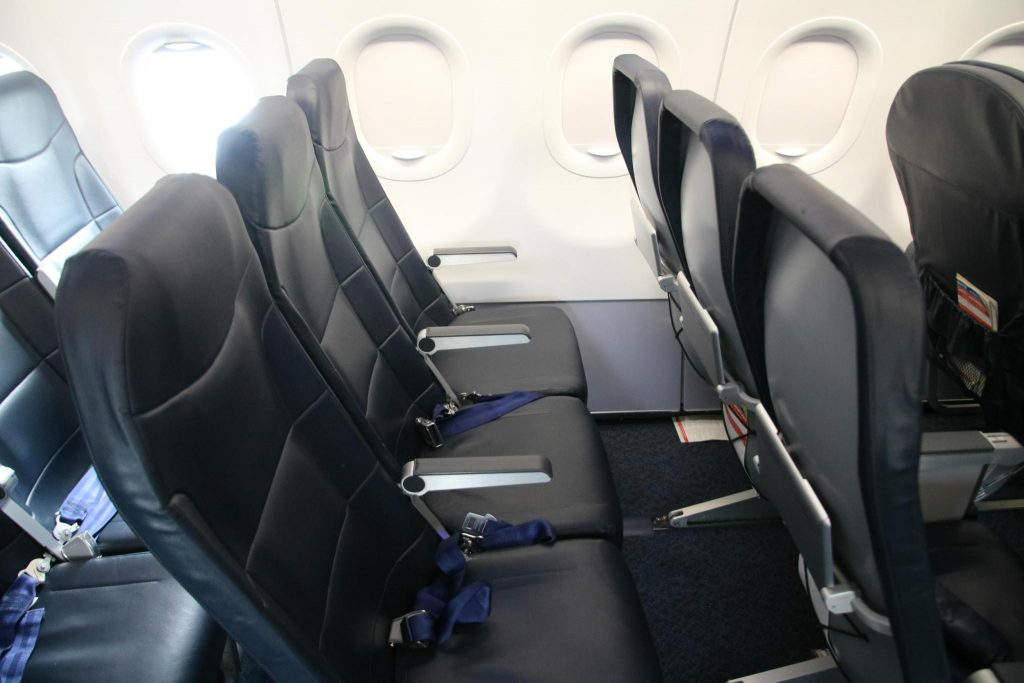 Spirit Airlines Airbus A321 200 Economy Class Standard Coach Seats Layout 3 3 Configuration