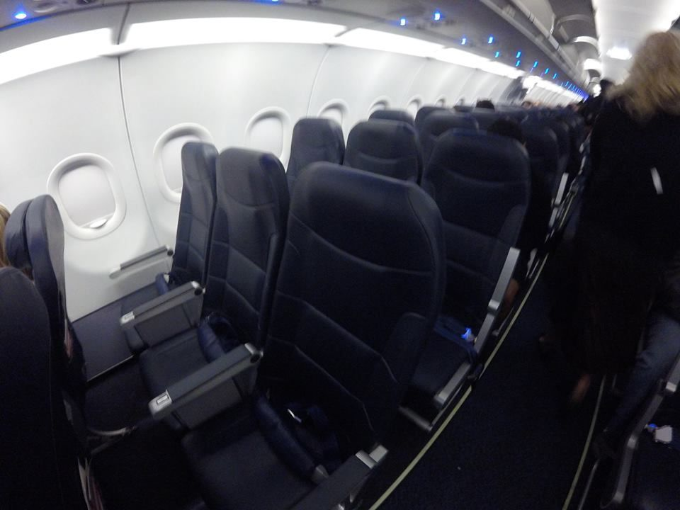 Spirit Airlines Airbus A321 200 Main Economy Cabin Interior 3 3 standard seats layout configuration