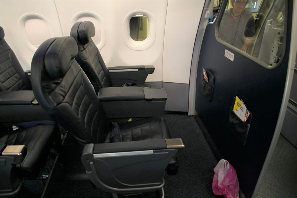 Spirit Airlines Airbus A321 200 Premium Eco Big Front Seats Bulkhead Cabin Photos
