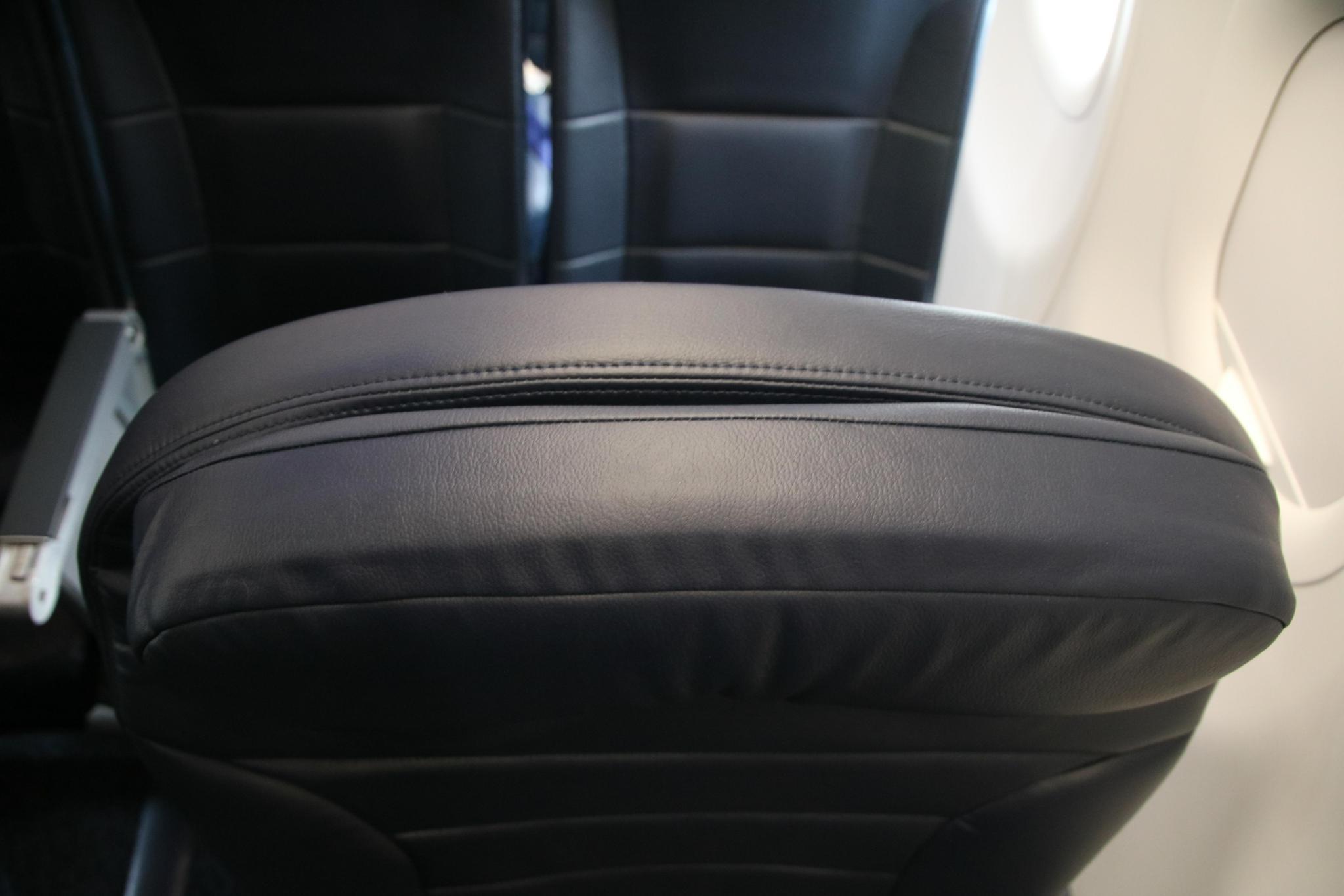 Spirit Airlines Airbus A321 200 Premium Eco Big Front Seats Headrest Photos