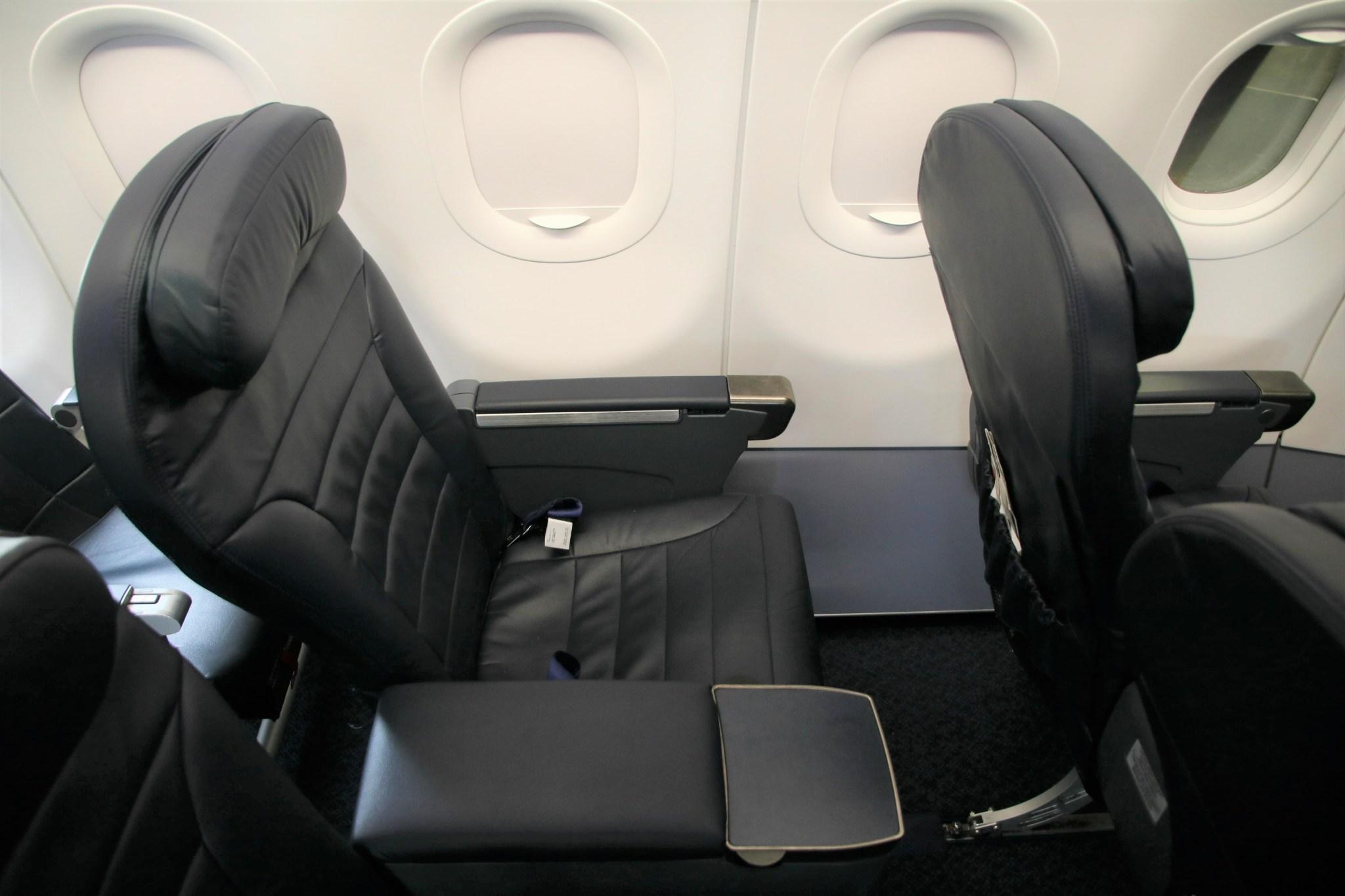 Spirit Airlines Airbus A321 200 Premium Eco Big Front Seats Photos