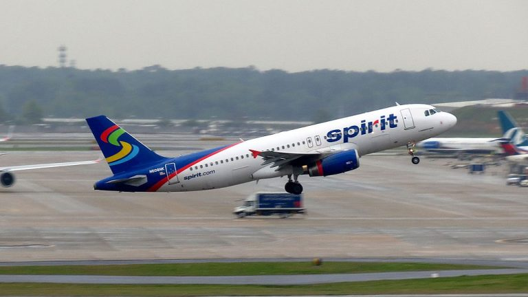 Spirit Airlines N608NK Airbus A320 200 takeoff Hartsfield Jackson Atlanta International Airport