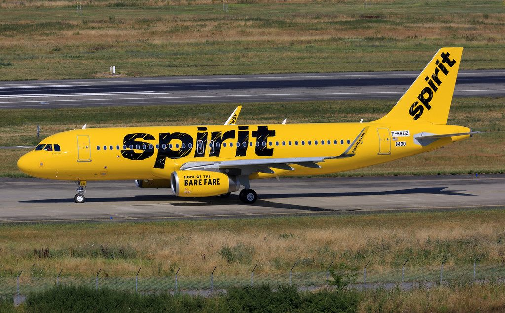 Spirit Airlines N656NK F WWDZ Airbus A320 200 Aircraft Photos at Toulouse–Blagnac Airport