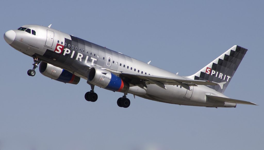 Spirit Aitlines Airbus A319 132 N507NK at Denver International Airport