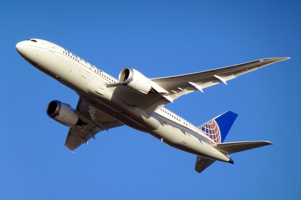 United Airlines Aircraft Fleet Boeing 787 8 Dreamliner N27908 cnserial number 36400124 departing LHR Airport London