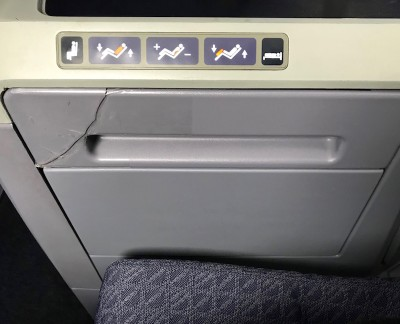 United Airlines Aircraft Fleet Boeing 787 8 Dreamliner Polaris BusinessFirst Class Easy To Use Seat Controls Photos
