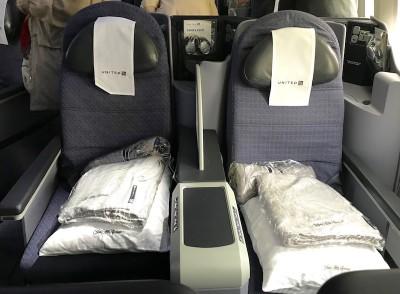 United Airlines Aircraft Fleet Boeing 787 8 Dreamliner Polaris BusinessFirst Class Seats Layout Photos