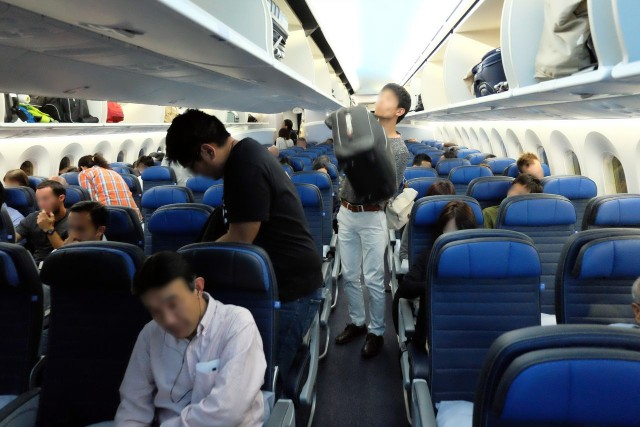 United Airlines Aircraft Fleet Boeing 787 9 Dreamliner Economy Class Cabin Seating Chart Seat Map 3 3 3 Configuration