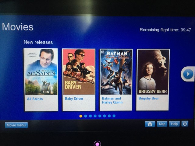 United Airlines Aircraft Fleet Boeing 787 9 Dreamliner Economy Plus Premium Eco Class Cabin Inflight Amenities IFE Entertainment System Screen