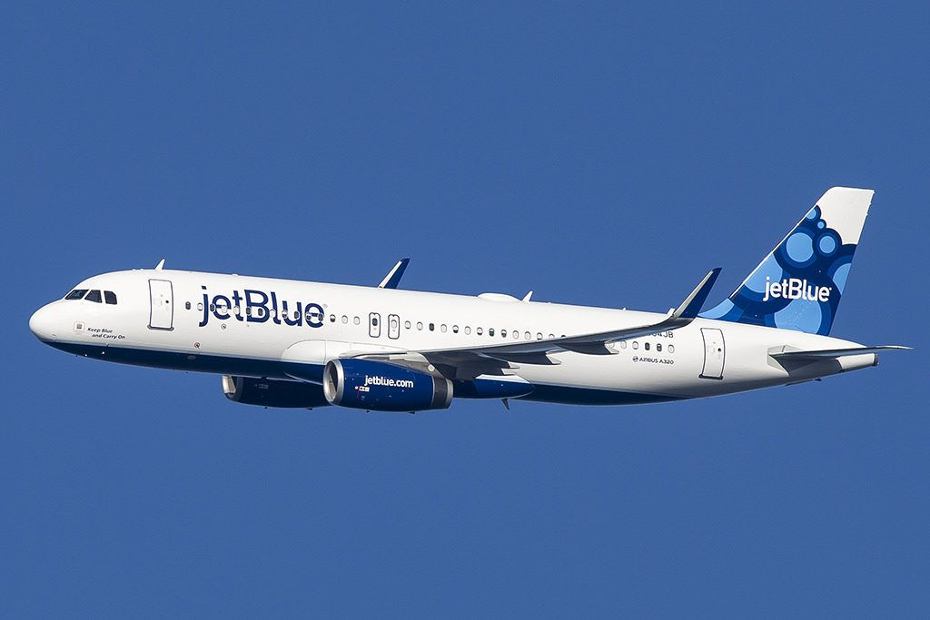 jetBlue Airbus A320 232 Keep Blue and Carry On N834JB