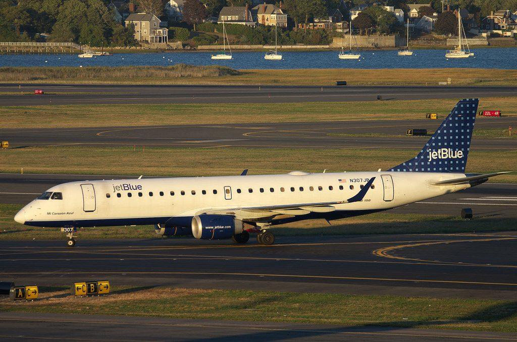 jetBlue Airways Embraer ERJ190 100IGW N307JB Mi Corazon Azul