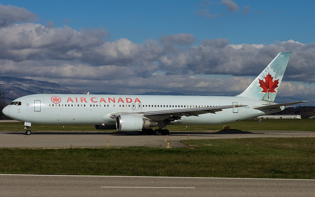 Air Canada ACA B767 375ER C FOCA at Geneva International Airport