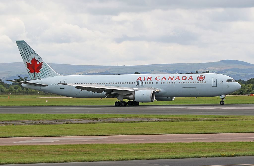 Air Canada ACA B767 375ER C FOCA at Manchester Airport