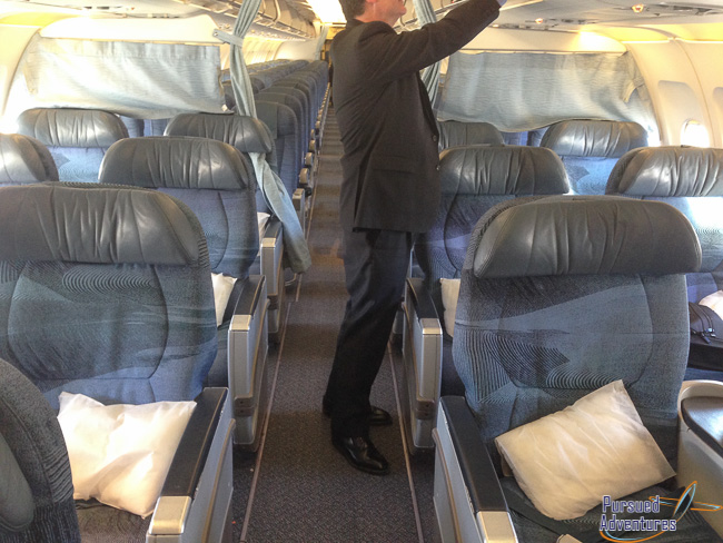 Air Canada Airbus A319 100 Business Class Cabin Interior and Seats Layout Configuration Photos @Pursued Adventures
