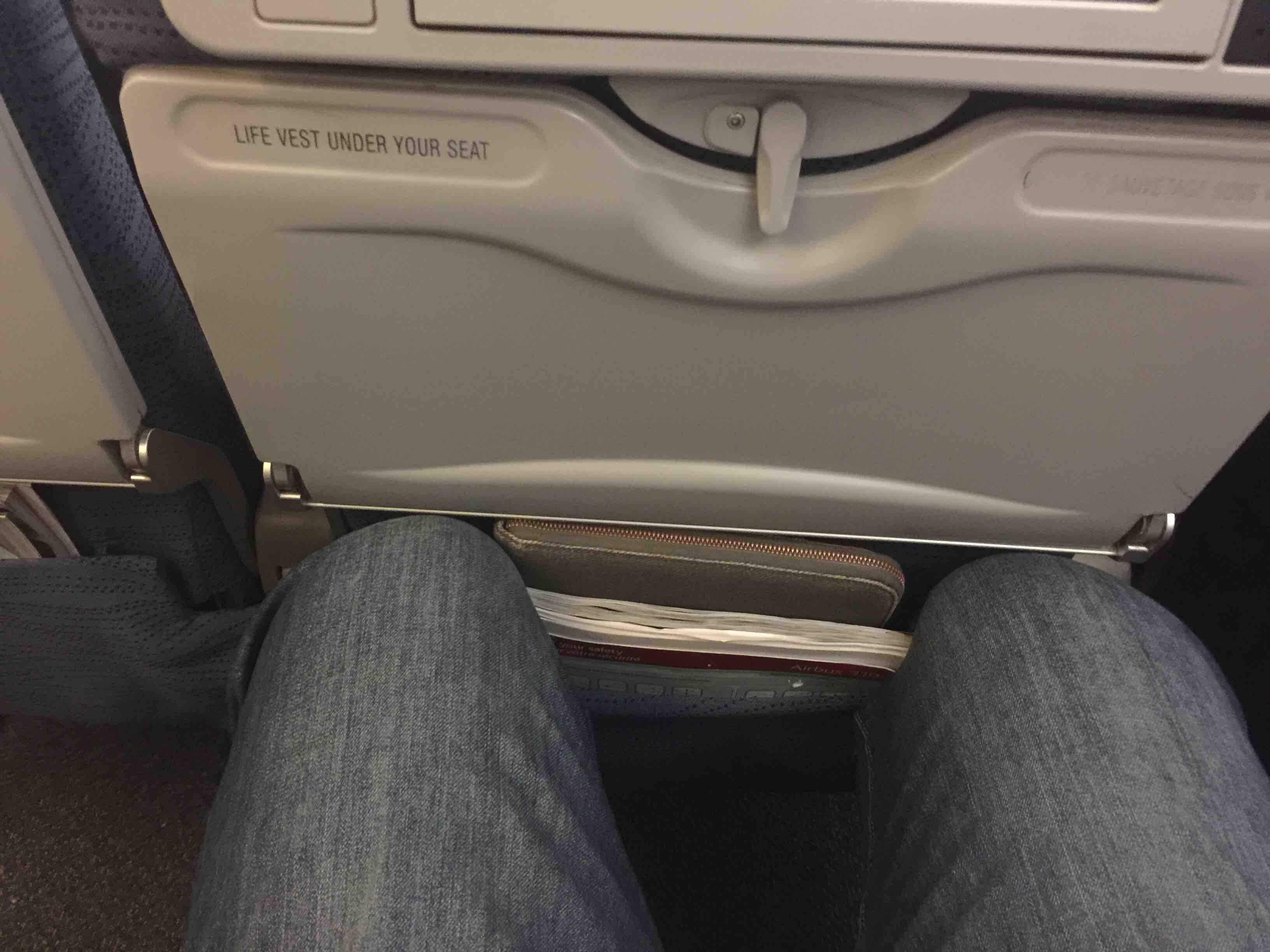 Air Canada Airbus A319 100 Cabin Economy Class Exit Row Seats Pitch Legroom Photos