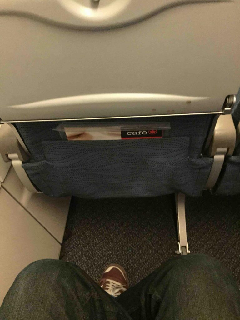 Air Canada Airbus A319 100 Cabin Preferred Seating Pitch Legroom Photos