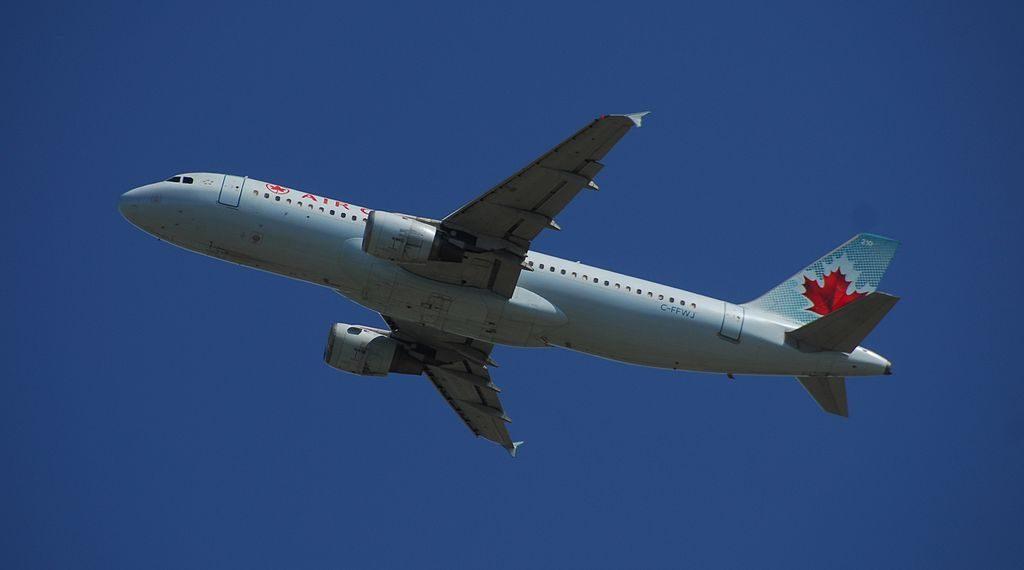 Air Canada Airbus A320 211 C FFWJ 210 Flight ACA125 from YYZ to YYC