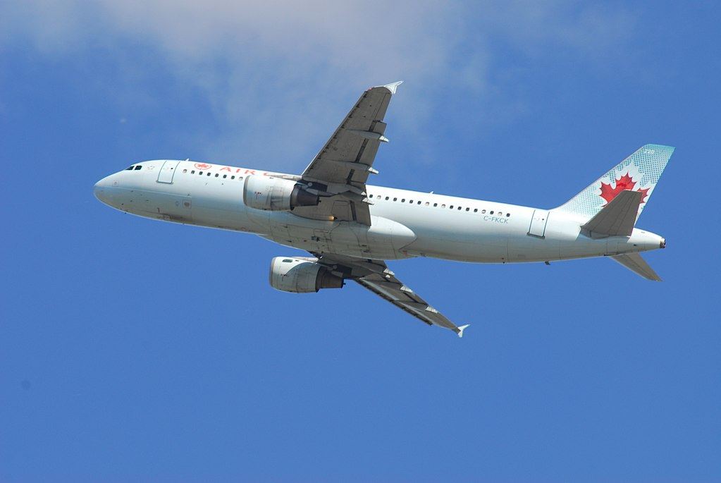 Air Canada Airbus A320 211 C FKCK 220 Flight ACA912 to MCO from Toronto Pearson International Airport