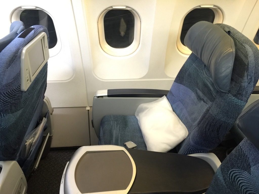 Air Canada Airbus A321 200 Business Class cabin seats narrowbody premium class product