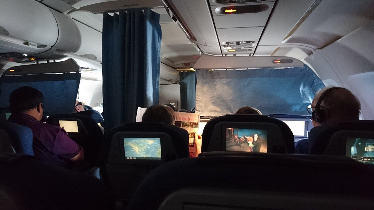 Air Canada Airbus A321 200 Economy Class Cabin Interior Picture With