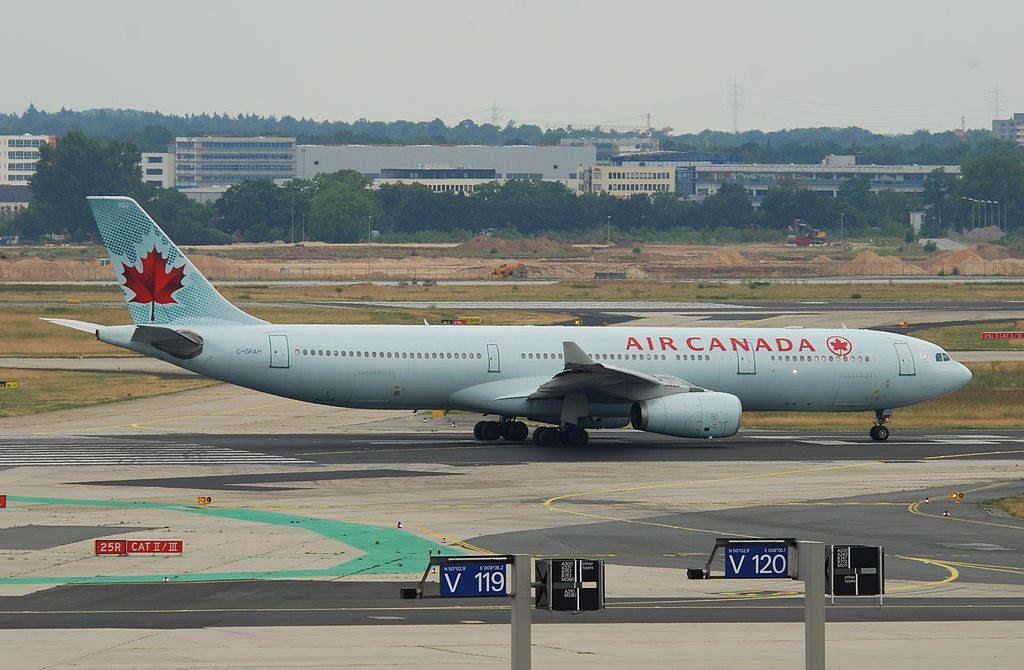 Air Canada Airbus A330 300 C GFAH at Frankfurt Airport