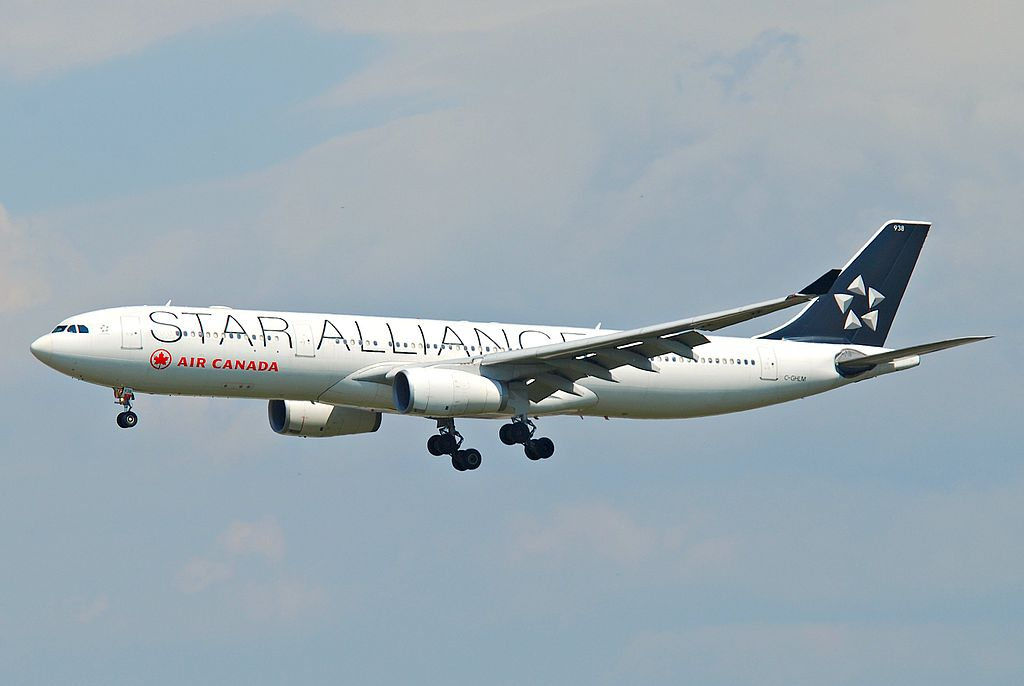 Air Canada Airbus A330 343X C GHLM STAR ALLIANCE Livery at Frankfurt Airport