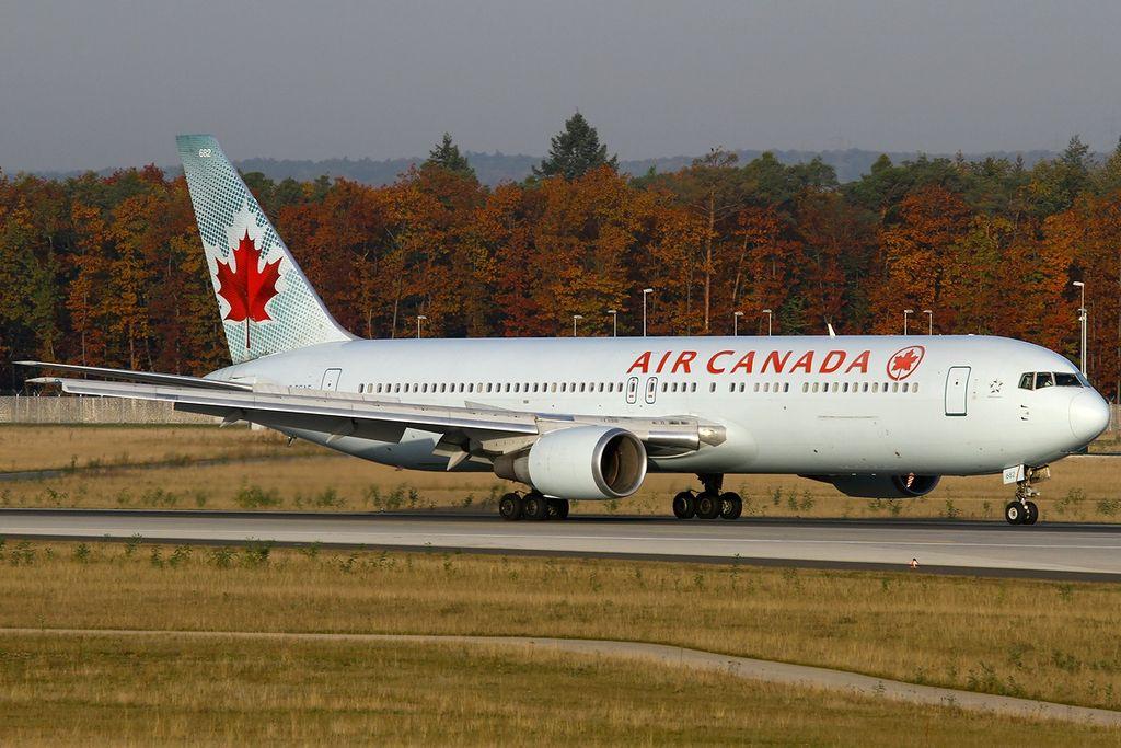 Air Canada Aircraft Fleet Boeing 767 375ER C FCAE at Frankfurt am Main Rhein Main AB FRA FRF EDDF Germany