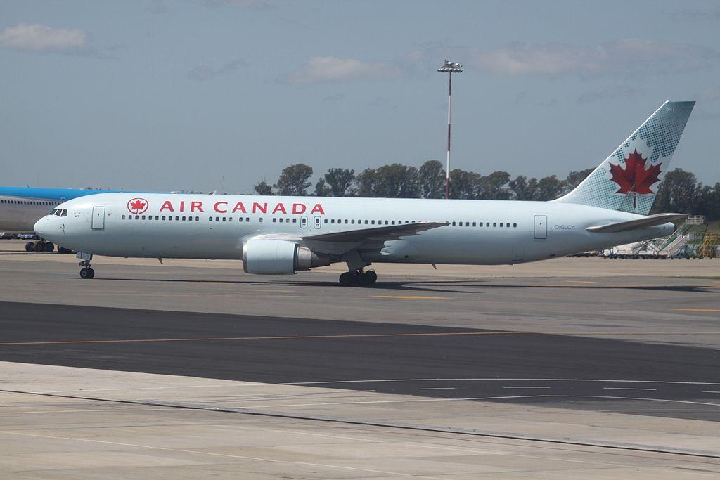 Air Canada Aircraft Fleet Boeing 767 375ER C GLCA at Ministro Pistarini International Airport Buenos Aires Ezeiza