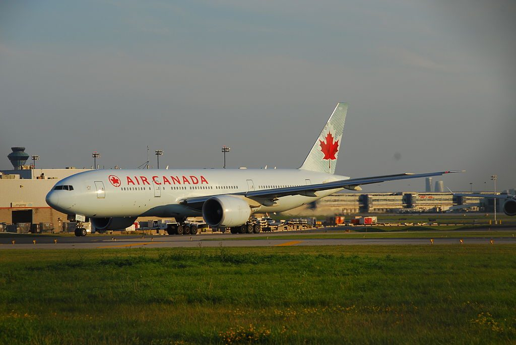 Air Canada Boeing 777 233LR C FIUA Flight ACA856 to LHR from Toronto Pearson International Airport