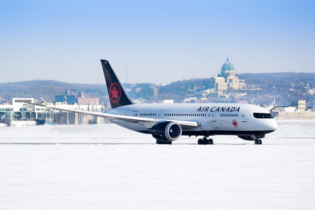 Air Canada Boeing 787 8 Dreamliner C GHPQ at Montréal–Pierre Elliott Trudeau International Airport IATA YUL ICAO CYUL