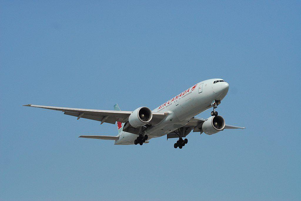 Air Canada C FNNH Boeing 777 200LR Flight AC34 from SYD YVR to YYZ