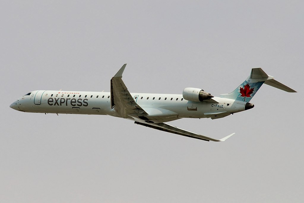 Air Canada Express Jazz Air Canadair Bombardier CRJ900 Regional Jet C FNJZ Aircraft Photos