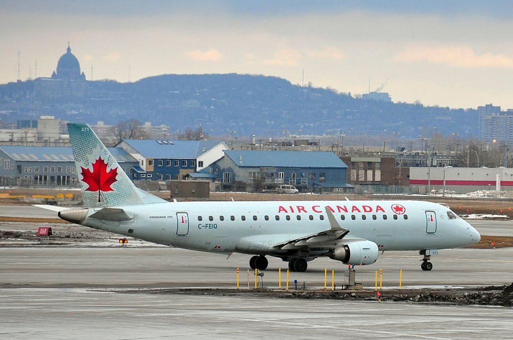 Air Canada Express Sky Regional Embraer E175 C FEIQ at Montréal Pierre Elliott Trudeau International Airport