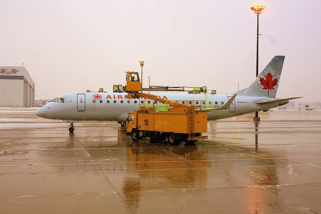 Air Canada Express Sky Regional Embraer E175 C FEJC at Toronto Pearson International Airport