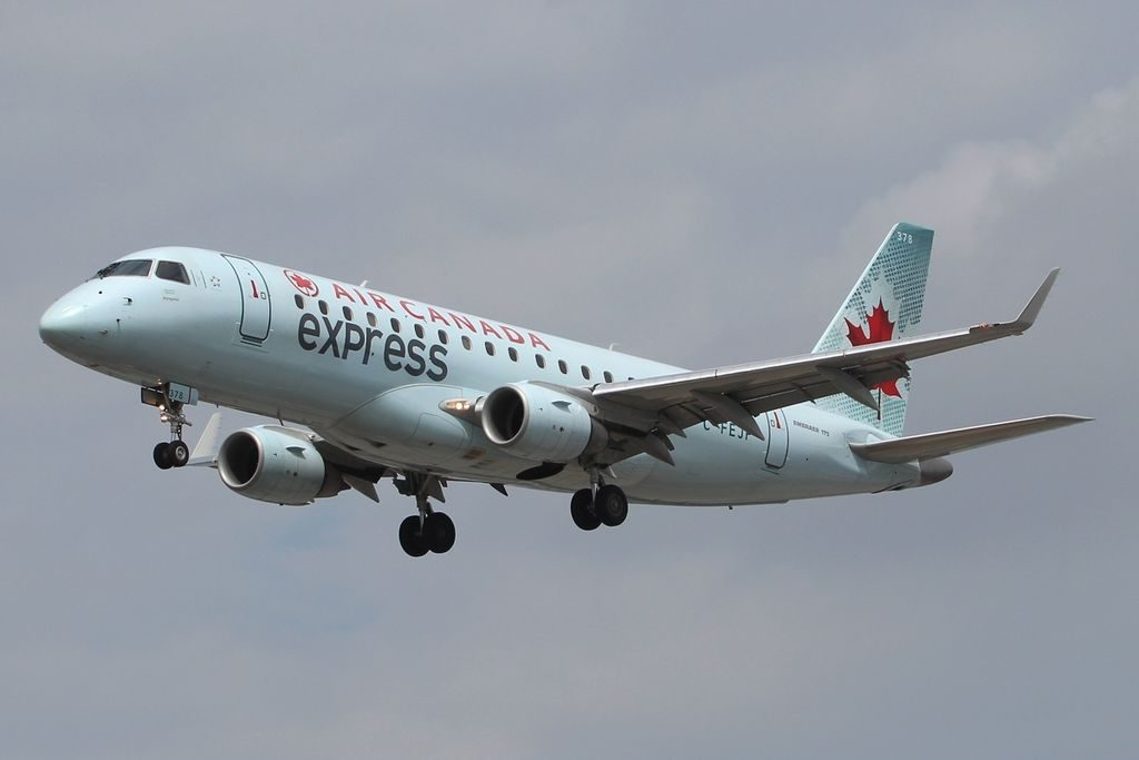 Air Canada Express Sky Regional Embraer E175 C FEJP at Lester B. Pearson International Airport