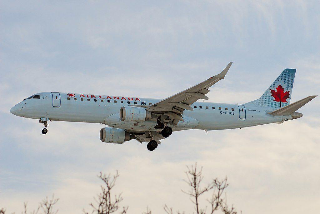 Air Canada Fleet C FHOS Embraer E190 Aircraft Photos