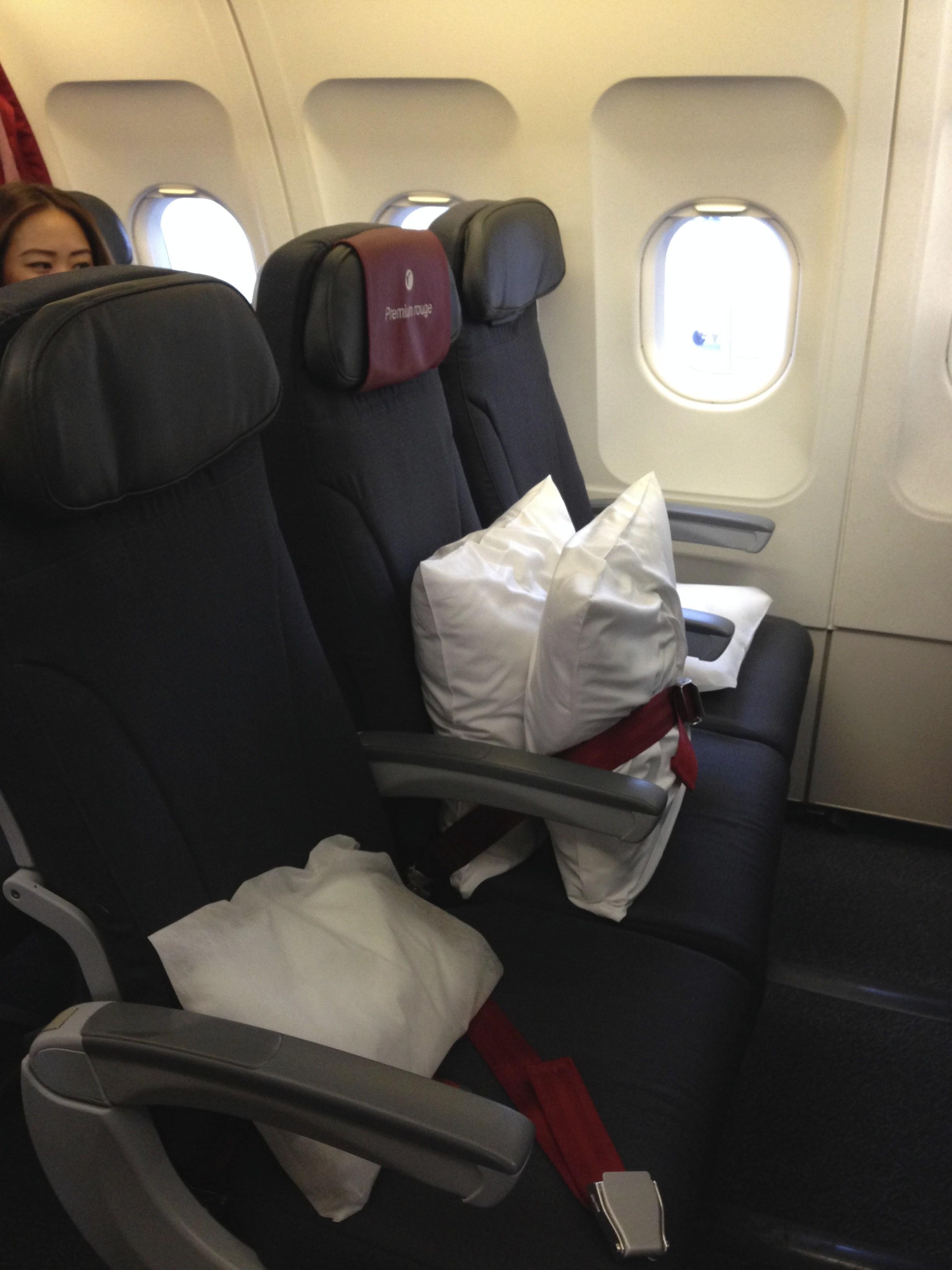 Air Canada Premium Rouge Seats Airbus A319 100