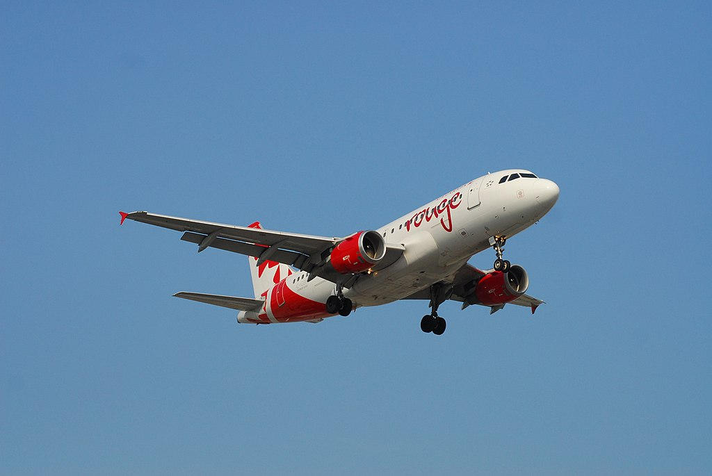 Air Canada Rouge Airbus A319 114 C GBHR 277 Flight RV1836 from PHX to YYZ