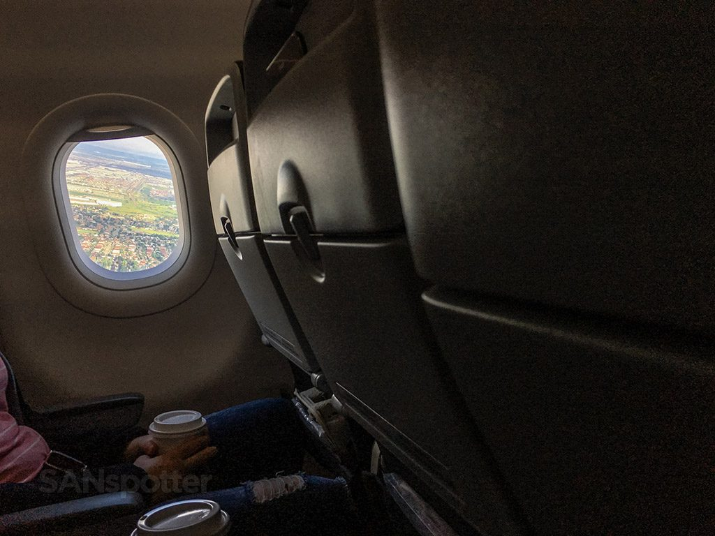 Air Canada Rouge Airbus A321 200 Economy Class Cabin Window Seats View @SANspotter