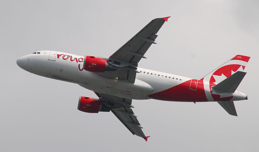 Air Canada Rouge C FYJE Airbus A319 114 cnserial number 656 Flight RV1864 from YYZ to TPA
