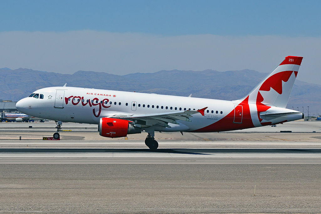 Air Canada Rouge C FYNS Airbus A319 114 cnserial number 572 Aircraft landing and takeoff photos