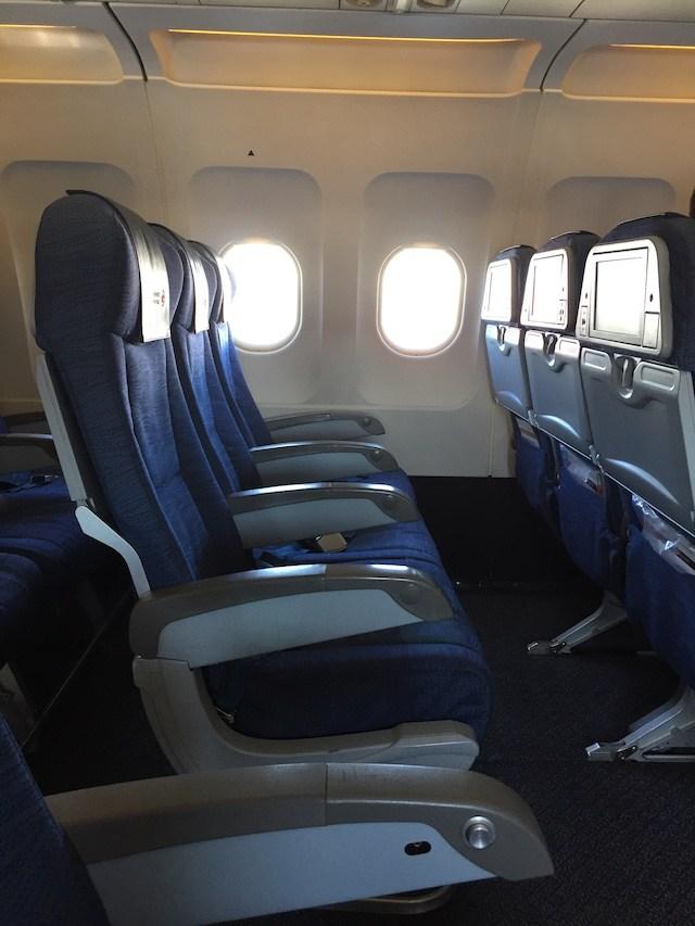 Air Canada SFO YVR Airbus A320 200 Preferred Economy Seats Photos