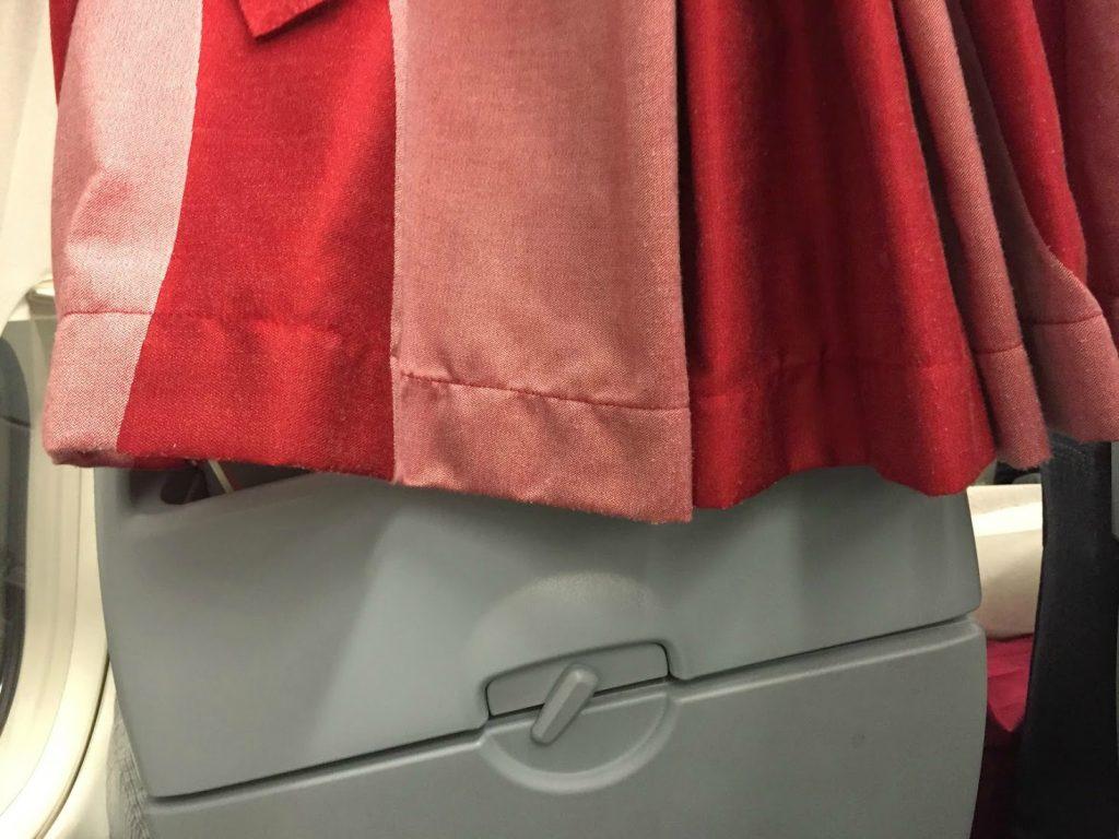 Airbus A319 100 Air Canada Rouge Cabin Interior Bulkhead Tray