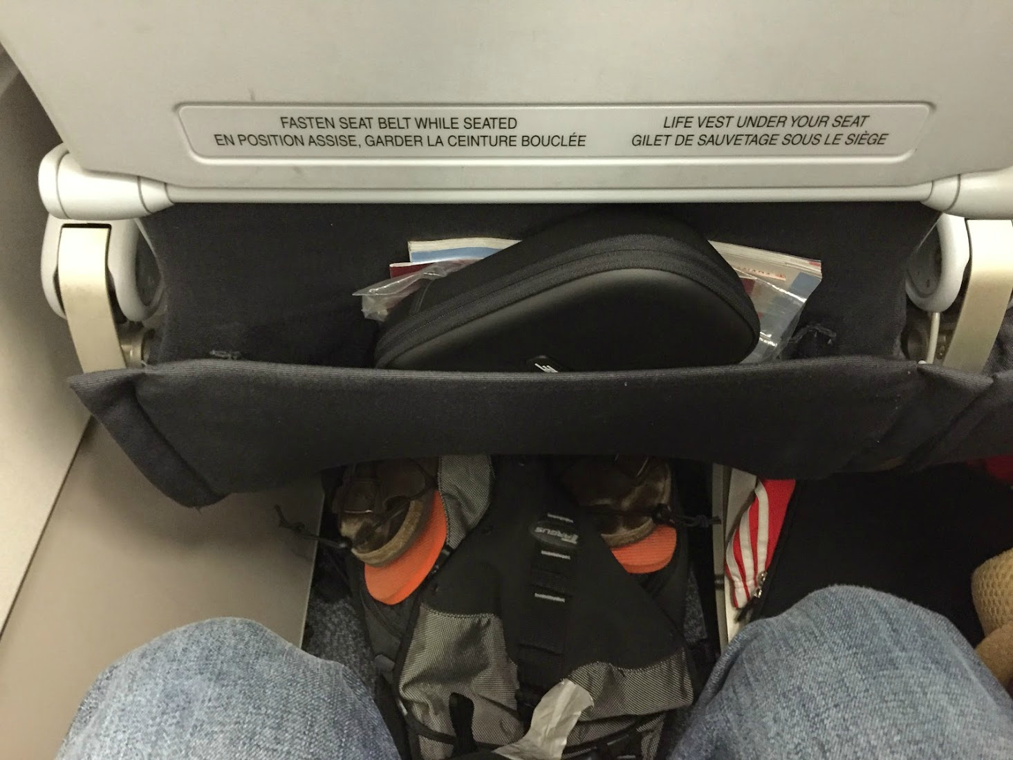 Airbus A319 100 Air Canada Rouge Preferred Seats Pitch Extra Legroom Photos